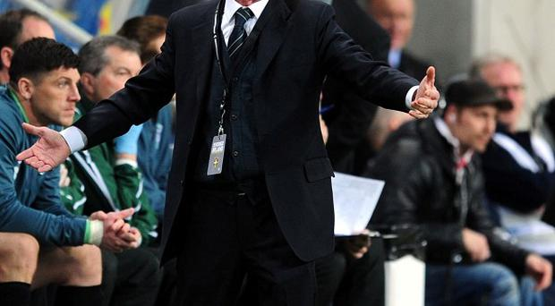 Giovanni Trapattoni will take the strongest possible squad to New York