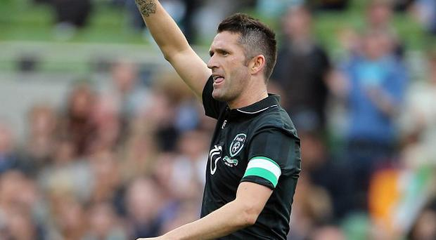 Robbie Keane will assume the captain's armband once more on Friday
