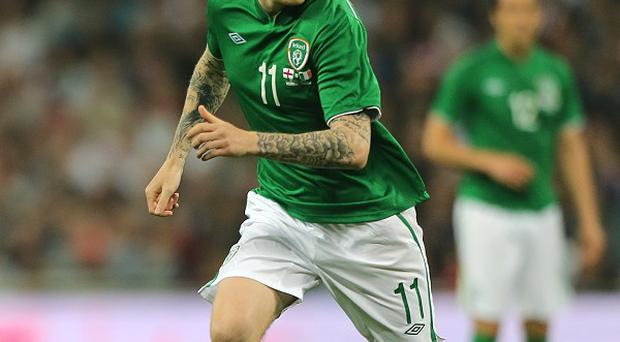 James McClean came within inches of shocking world and European champions Spain on Wednesday