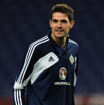 Kyle Lafferty, pictured, is reunited with Gennaro Gattuso at Palermo