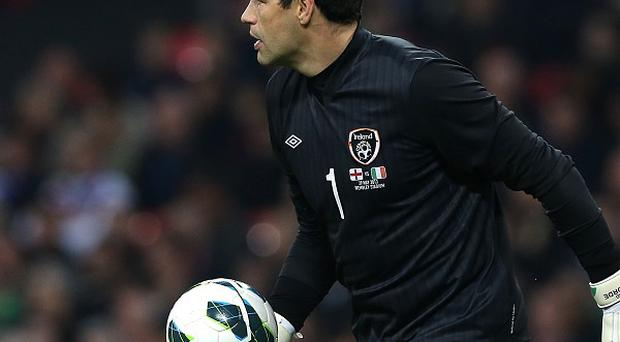 David Forde could be set for a spell on the sidelines