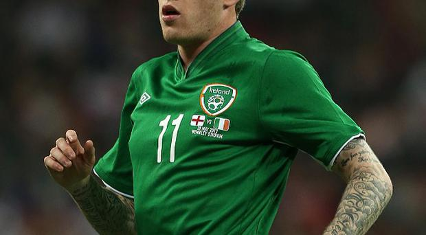 James McClean is hoping to make the Ireland World Cup squad