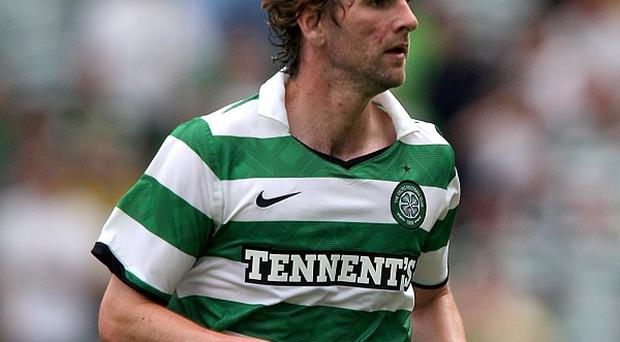 Paddy McCourt during his Celtic days