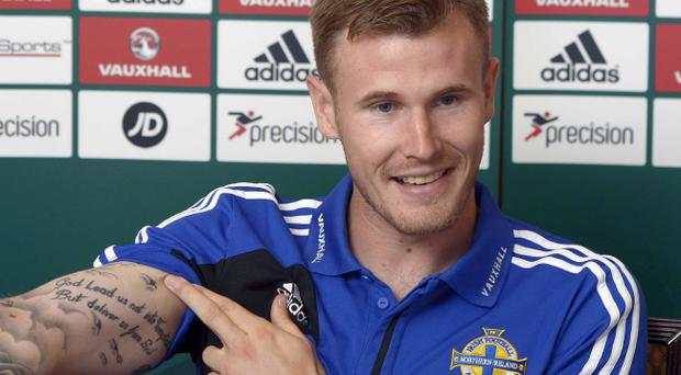 Michael O'Connor is delighted to be in the Northern Ireland squad again