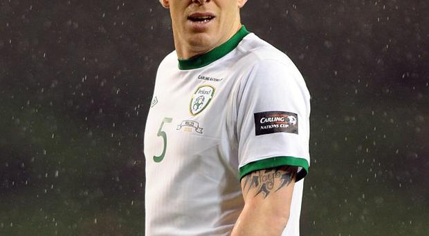 Central defender Richard Dunne will once again represent his country on Friday night