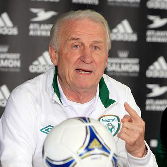 Giovanni Trapattoni could extend his stay as Ireland boss