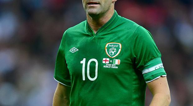 Robbie Keane is poised to win his 129th Ireland cap on Tuesday