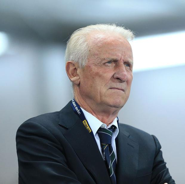 Giovanni Trapattoni's side slipped to a 1-0 defeat to Austria