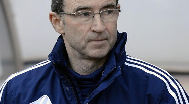 Martin O'Neill, pictured, is the bookmakers' favourite to replace Giovanni Trapattoni