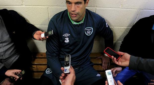 David Forde is looking forward to taking on Germany
