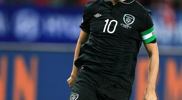 Robbie Keane could not take part in training on Wednesday