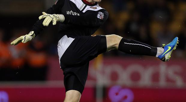 Aaron McCarey kept the Romania Under-21 side at bay