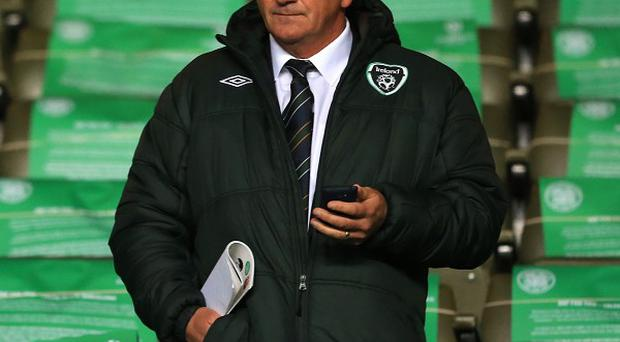 Noel King, pictured, was handed interim charge after Giovanni Trapattoni was sacked