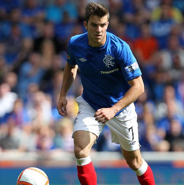 Andy Little has indicated he wants to stay at Rangers