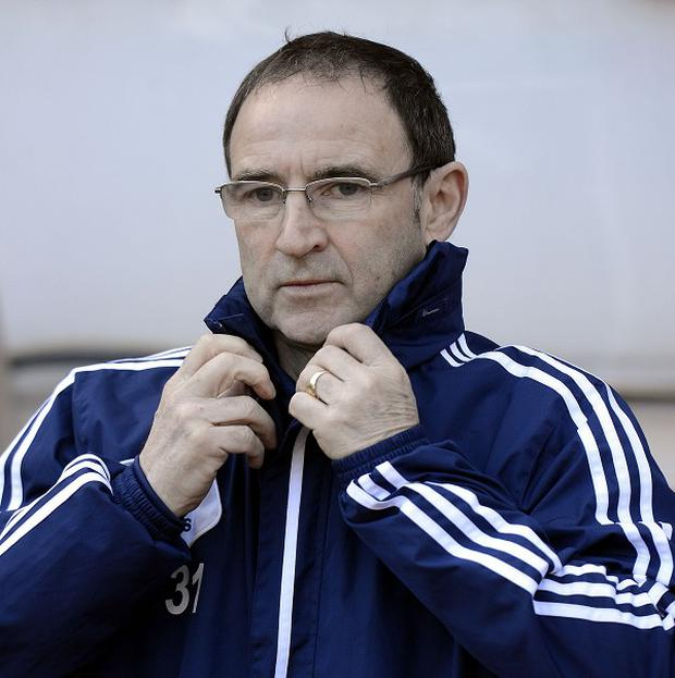 Martin O'Neill is closing in on the Ireland job