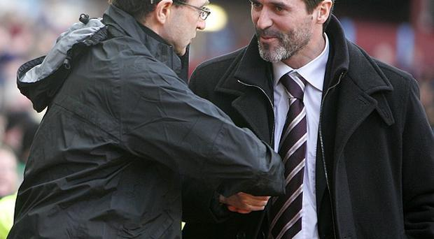 Martin O'Neill, left, and Roy Keane are set to join forces