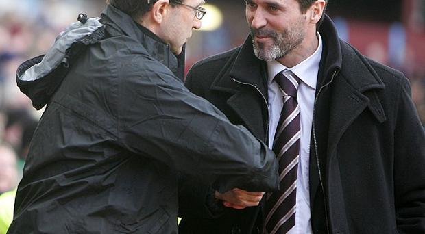 Martin O'Neill, left, and Roy Keane, right, form Ireland's new management team
