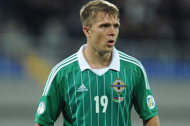 Jamie Ward has been forced out of the Northern Ireland squad