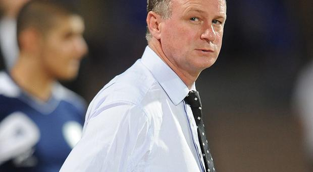 Michael O'Neill, pictured, is expected to call on Jonny Steele for Northern Ireland's match against Turkey on Friday