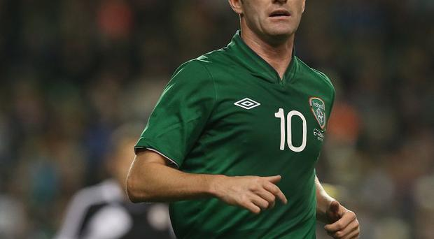 Robbie Keane will not start against Poland on Tuesday