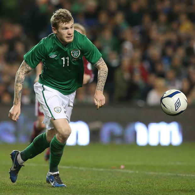 James McClean sent a derogatory tweet about a Northern Irish newspaper over the weekend