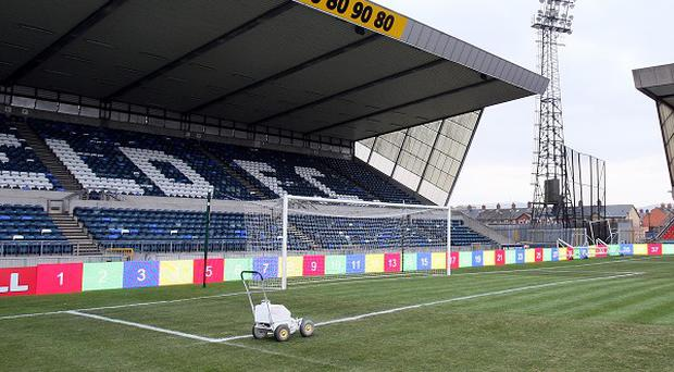 Linfield's Windsor Park ground