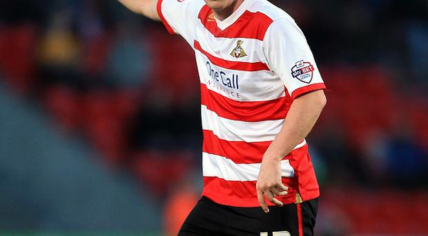 Luke McCullough of Doncaster Rovers, impressed on his debut for Northern Ireland