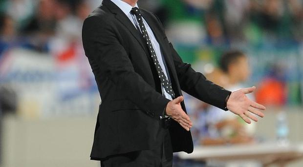 Michael O'Neill is attempting to solve his side's goalscoring problems