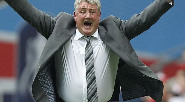 Steve Bruce's Hull are in Europe after he guided them to the 2014 FA Cup final