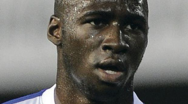 Done deal: Eliaquim Mangala is finally a Manchester City player