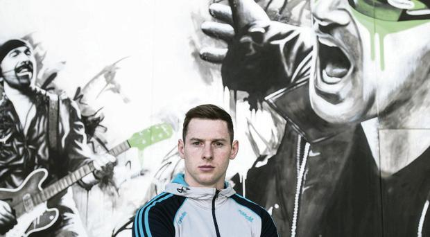 Good vibe: Philly McMahon hopes to call the tune when Dublin face Donegal in the All-Ireland semi-final
