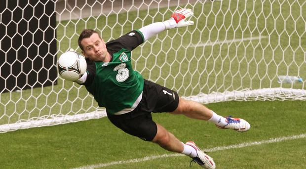 Shay Given was a surprise inclusion in the Republic of Ireland squad