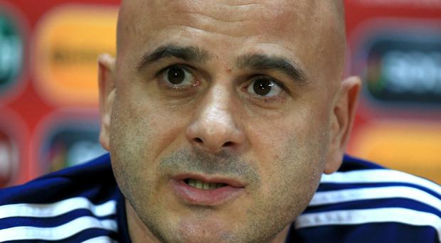 Temur Ketsbaia, pictured, has kept in touch with his former Newcastle team-mate Shay Given