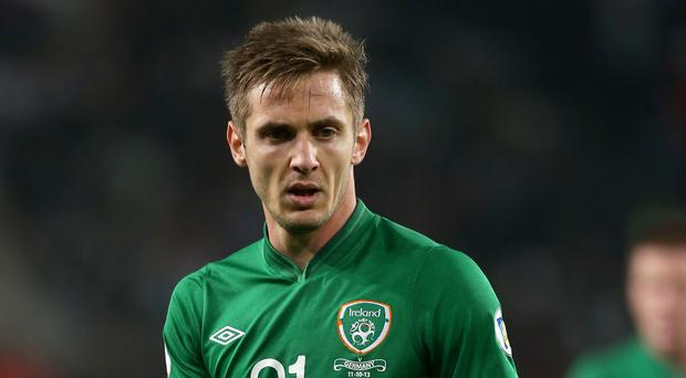 Kevin Doyle will miss Ireland's game against Scotland with a groin injury