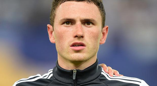 Northern Ireland's Corry Evans