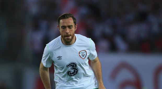 Defender Richard Keogh is hoping the comforts of home will help to re-ignite the Republic of Ireland's Euro 2016 qualifying campaign