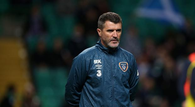 Roy Keane would not discuss the incident when he spoke to the press on Sunday