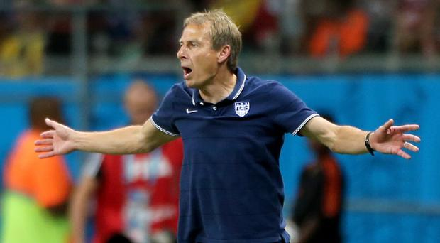 Jurgen Klinsmann, pictured, has held up Republic of Ireland skipper Robbie Keane as a role model for aspiring players