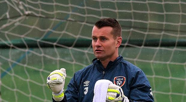 Friendly victory over the United States has eased the pain of defeat in Scotland for Republic of Ireland keeper Shay Given