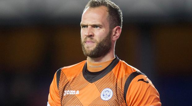 Alan Mannus, pictured, is currently understudy to Roy Carroll in the Northern Ireland side