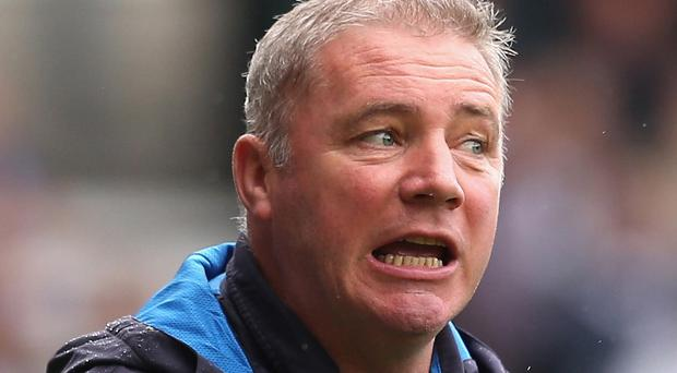 Under fire: Humiliating defeat by Alloa may be the straw that breaks the camel's back for Ally McCoist