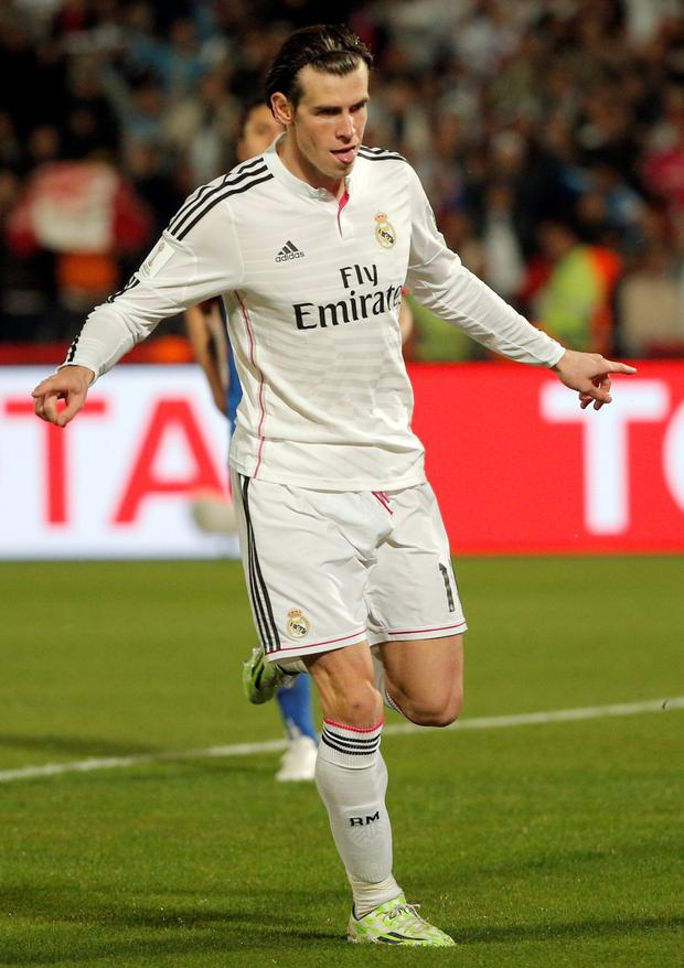 Welsh wizard: Gareth Bale