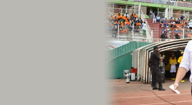 It was supposed to be a home game for Sierra Leone in the African Cup of Nations qualifying rounds.