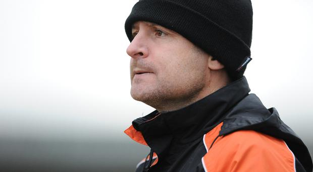 Watching brief: Michael Hughes will be keeping a close eye on the derby clash between Larne and Carrick