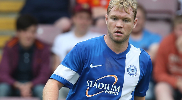New Blue: Grant McCann is off to Linfield