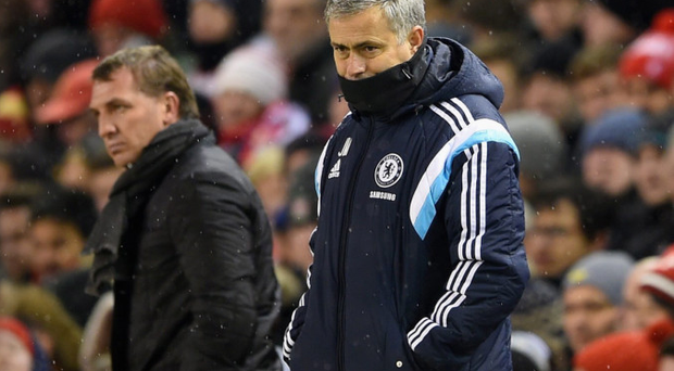 Mind games: Jose Mourinho says Brendan Rodgers leaves too much space open to attack