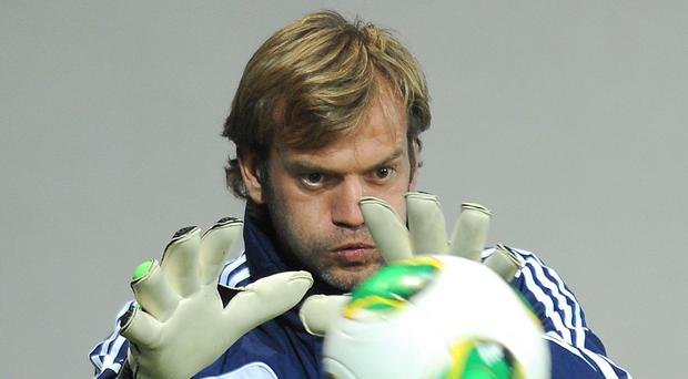 Roy Carroll has his eyes on the prize with Northern Ireland