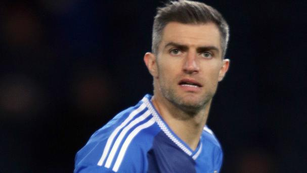 Aaron Hughes has become Northern Ireland's most capped outfield player