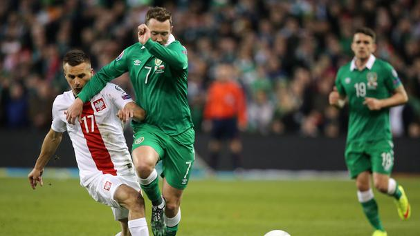 Republic of Ireland winger Aiden McGeady has revenge in mind as he prepares for a reunion with Scotland