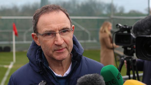 Martin O'Neill is preparing for a crucial showdown with Scotland